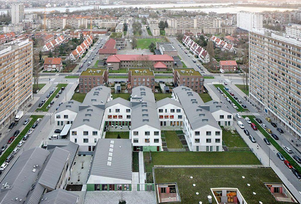 De Smet Vermeulen Architecten. Iglo project. Amberes (Bélgica), 2006-2014