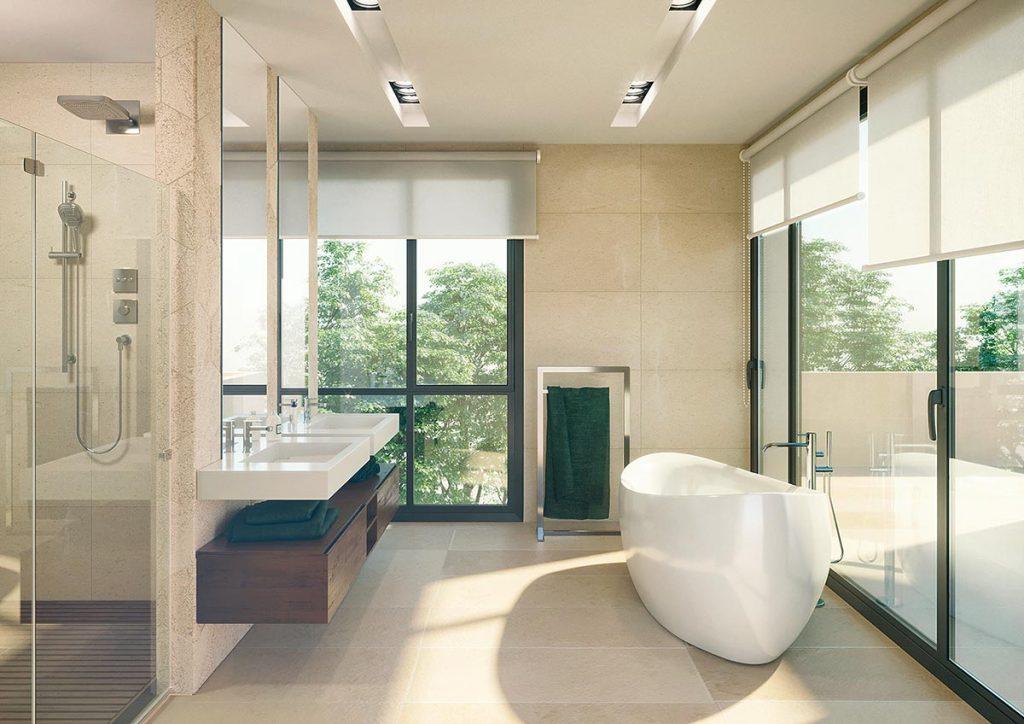 Agencia de visualización arquitectónica | Baño Analog