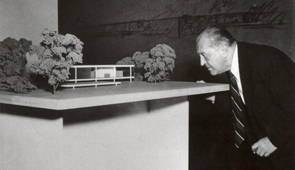 Ludwig Mies van der Rohe (1886-1969) y la casa Farnsworth
