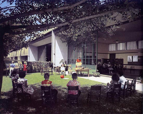Corona School de Richard Neutra