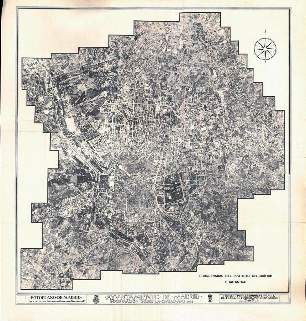 Plano de Madrid, 1929