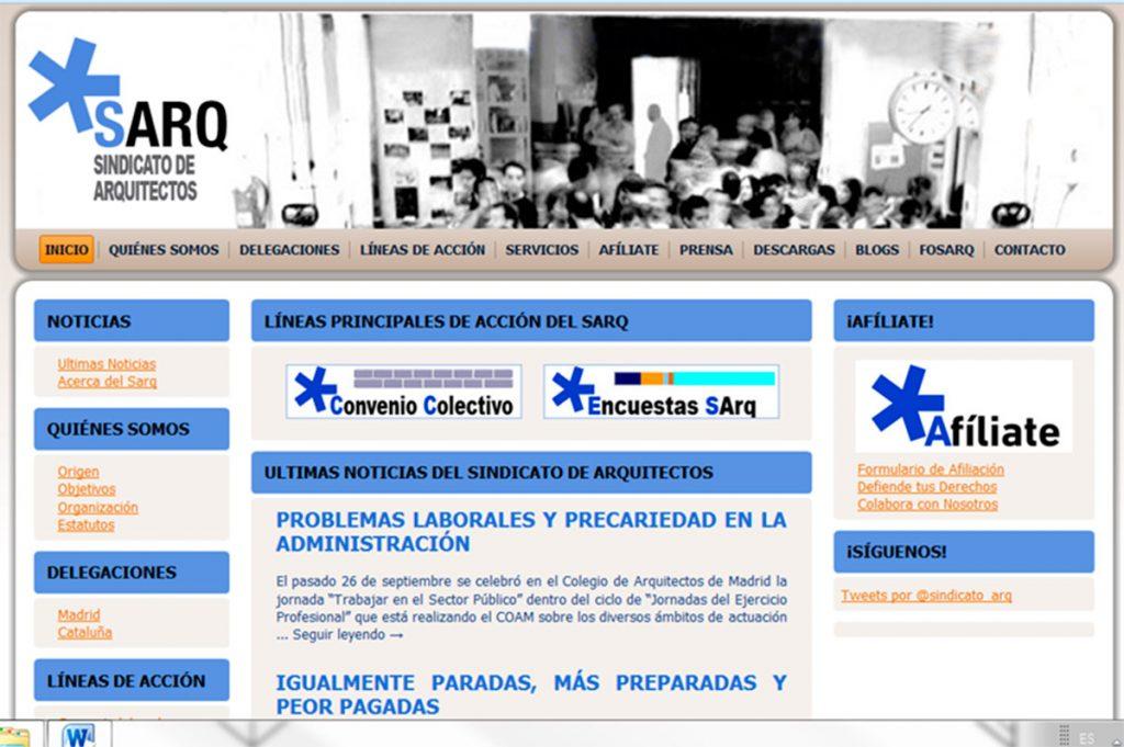 Entrevista Sindicato de arquitectos · Asociación democrática de trabajadores o3