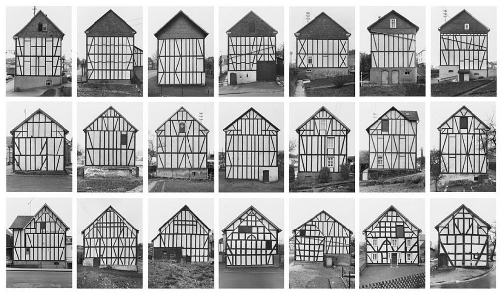 Bernd Becher, Hilla Becher. Framework Houses. 1957-74
