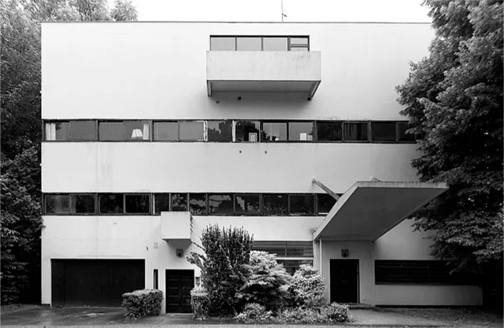 Villa Stein-de-Monzie, Les Terrasses, Garches (Vaucresson), France, 1926