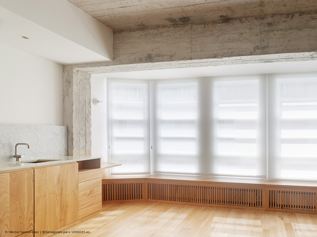 Reforma de piso en vigo ansede quint ns arquitectos veredes - Piso cristal vigo ...