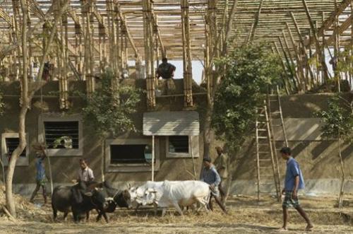 Escuela en Bangladesh _ Obra de Anna Heringer