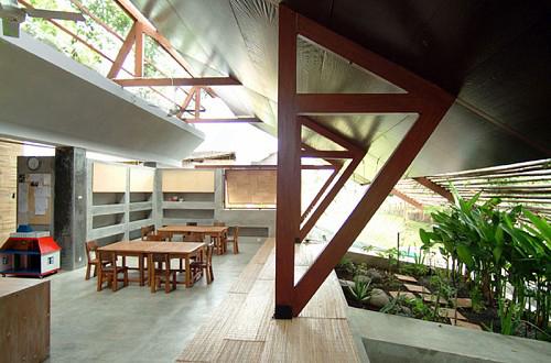 Jardín de infancia en Kerobokan, Bali _ Obra de Giovanni D'Ambrosio