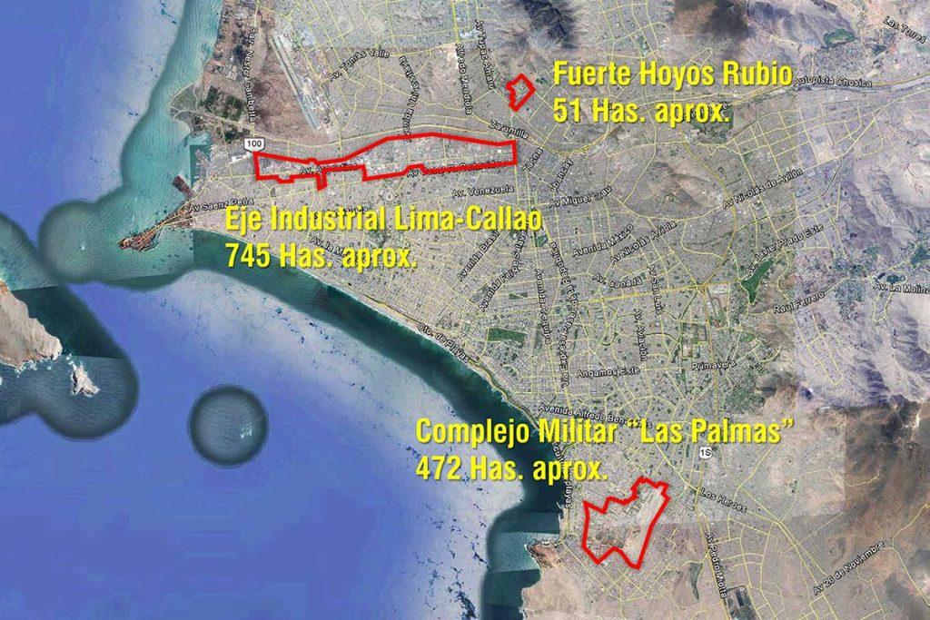 Elaboración del autor en base a una imagen de Google Earth.