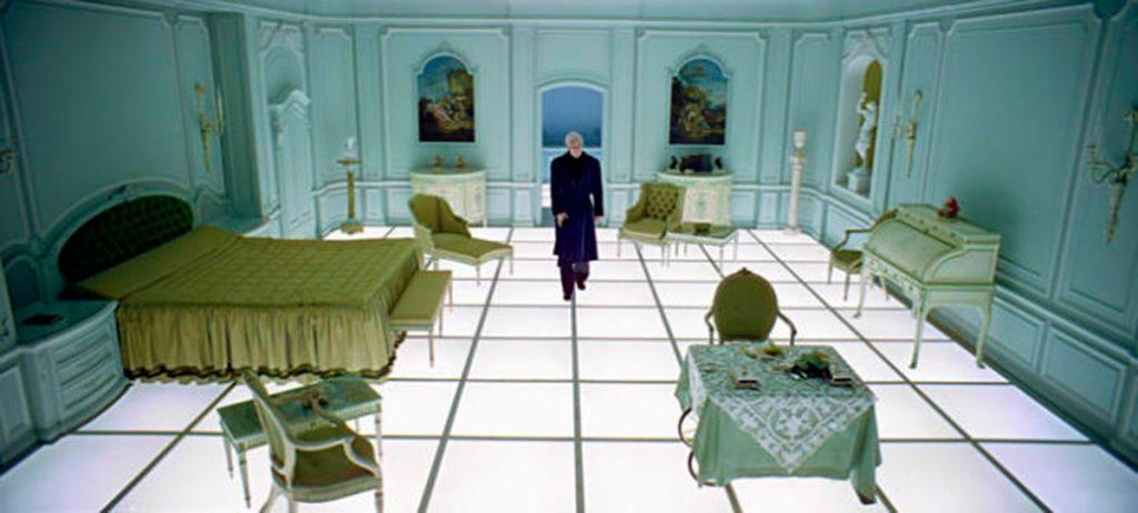 La espectacular habitación de las secuencias finales de ´2001: una odisea del espacio´.L. O
