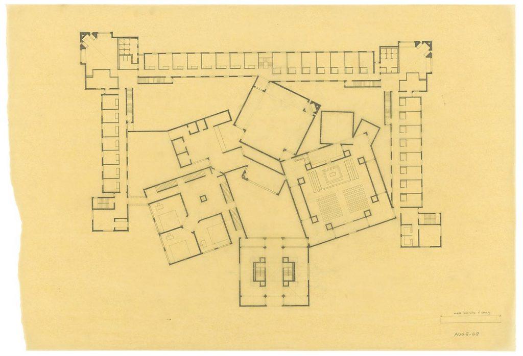 Louis I. Kahn. Convento de las Dominicas de Filadelfia (1965-68)