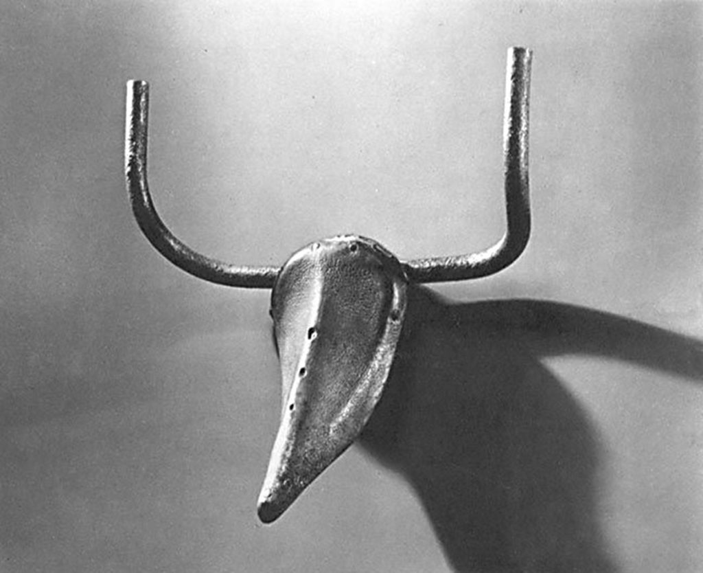Pablo Picasso. Cabeza de toro. 1942