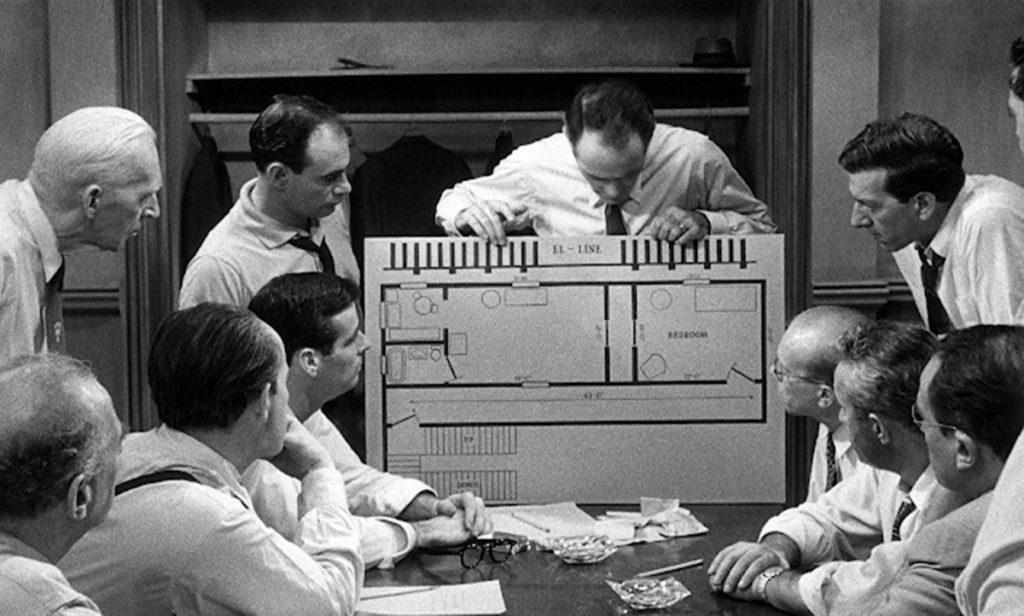 12 hombres sin piedad, 12 Angry Men, de Sidney Lumet, 1957