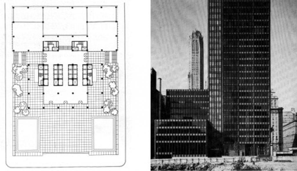 El Seagram Building según F.Schulze en Mies van der Rohe una biografía crítica