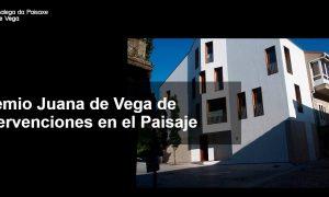 Premio Juana de Vega de Intervenciones en el Paisaje. Convocatoria 2018 Viviendas unifamiliares