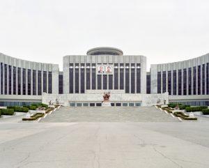 Maxime Delvaux: Palacio de los Niños y escolares Mangyongdae, 2012.