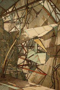 Lebbeus Woods DMZ Project – Terra Nova, 1988