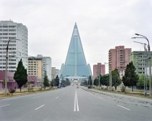 Maxime Delvaux: Hotel Ryugyong, 2012.