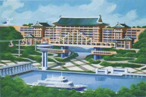 Utopian Tours: West Sea Barrage Hotel