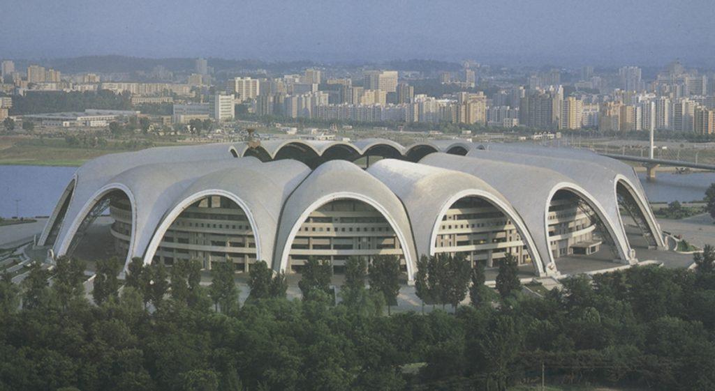 XIII Festival Mundial de la Juventud y los Estudiantes: Estadio Primero de Mayo en la isla Rungna, Pyongyang