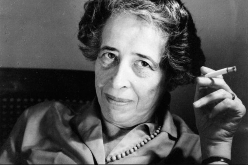 La filósofa Hannah Arendt (1906-1975)
