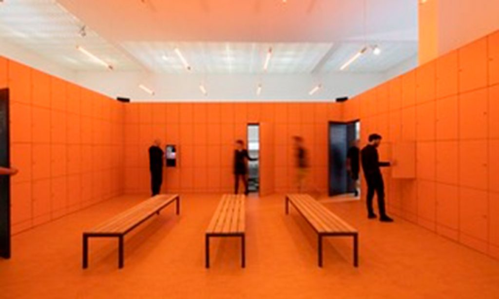 Entrevista Marina Otero Verzier Pabellón Holandés, Bienal de Arquitectura de Venecia, 2018 Fotografía Daria Scagliola.