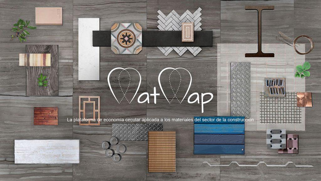 Tipos de materiales comercializados por la plataforma MatMap