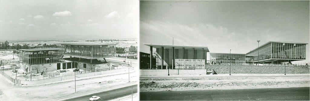 Montaje en España. Procedencia: Archivo de la Cámara de Comercio de Madrid.
