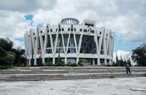 Circo de Chisinau de 1981. Arquitectos S. Shoikhet y A. Kirichenko