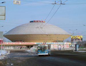 Circo de Kazan de 1967. Arquitectos: G. Pichuev, A. Tagantsev