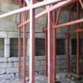 Rehabilitación nave lateral del monasterio de San Clodio en Leiro OLA estudio EA07