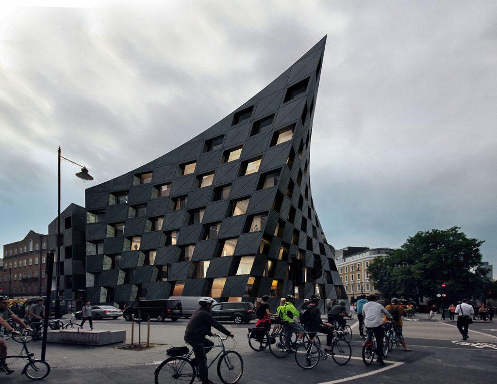 Hotel Shoreditch, alojamiento urbano en Londres AQSO arquitectos office o2