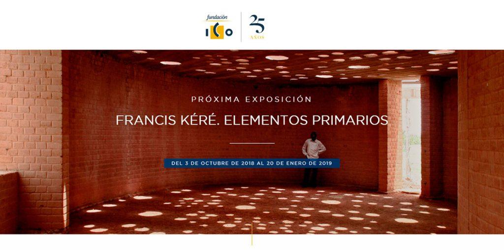 Francis Kéré. Elementos primarios