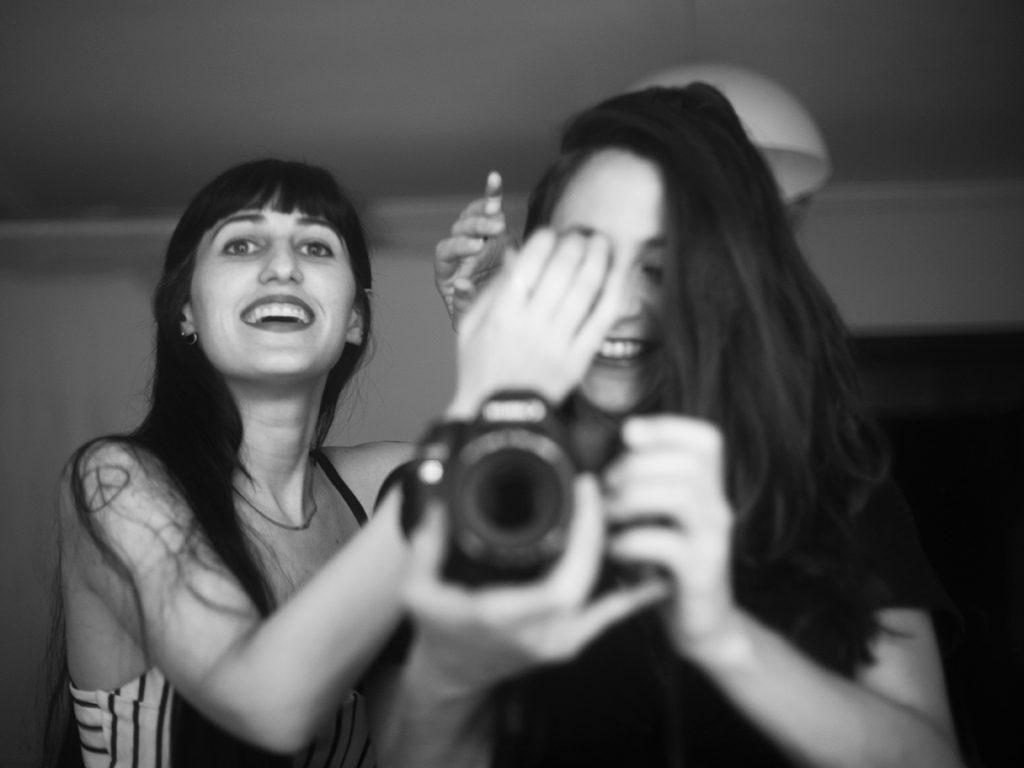 Autorretrato, Ana Asensio y Milena Villalba (de izquierda a derecha) © Milena Villalba