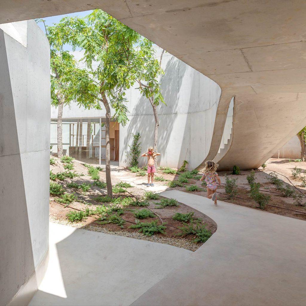 Casa Toto, Alicante, 2018, del estudio Grupo Aranea ©Milena Villalba