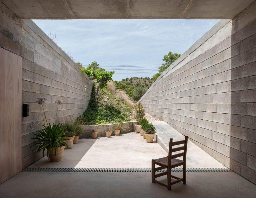 Casa en el Maigmó, Alicante, 2017, del arquitecto Alfredo Payá © Milena Villalba