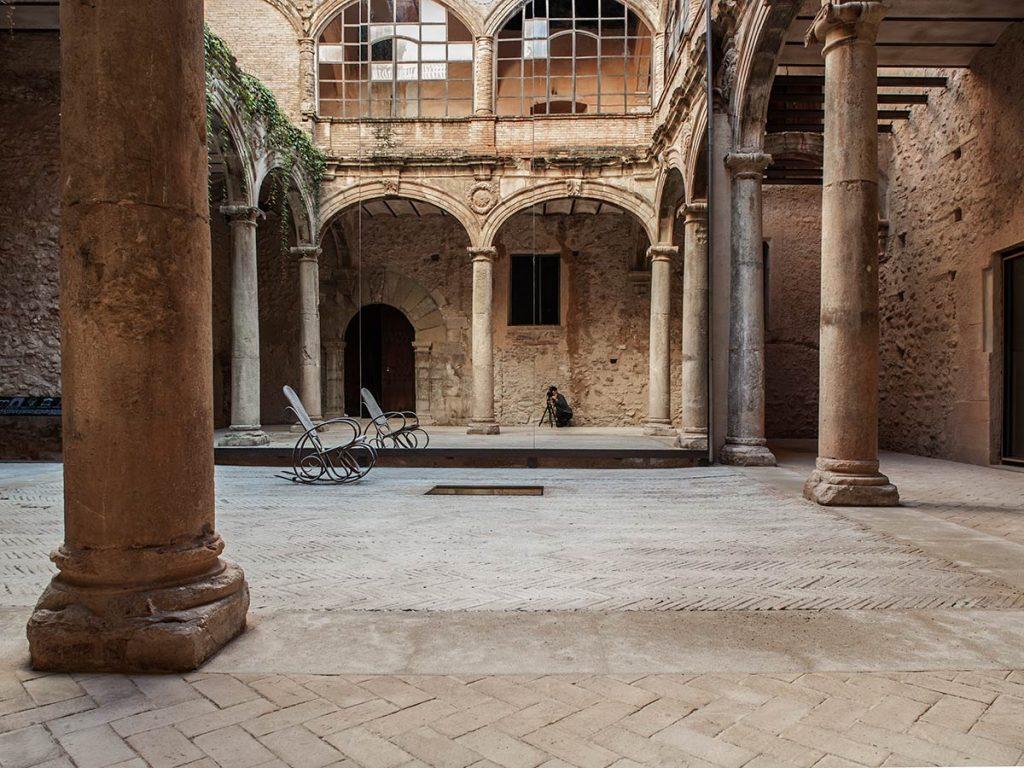 Palau-Castell de Betxí, (Castellón) 2014, del estudio El fabricante de espheras © Milena Villalba