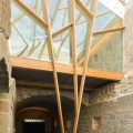 Rehabilitación nave lateral del monasterio de San Clodio en Leiro OLA estudio ERo25