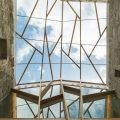 Rehabilitación nave lateral del monasterio de San Clodio en Leiro OLA estudio ERo27