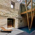 Rehabilitación nave lateral del monasterio de San Clodio en Leiro OLA estudio ERo53