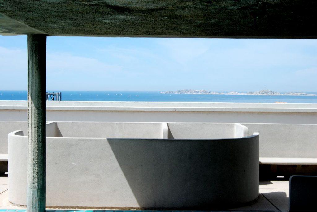 Unité d'Habitation en Marsella, 1947-52, Le Corbusier | Fotografía: Óscar Tenreiro Degwitz