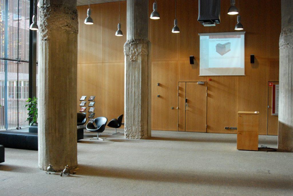 Oficinas del Senado Finlandés, proyecto de la oficina Heikkinen-Komonen. Fotografía | Fotografía: Óscar Tenreiro