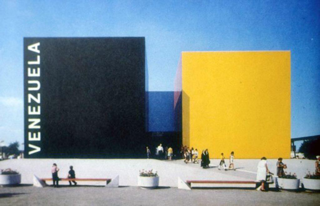 Un extraordinario ejemplo de integración de Técnica y Arte el Pabellón de Venezuela en Expo Montreal, 1967, de Carlos Raul Vilanueva.