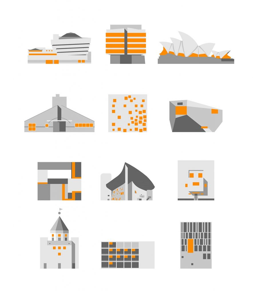 ArchiMaps abarca no solamente arquitectura contemporánea, sino un panorama completo de todos los estilos y épocas.