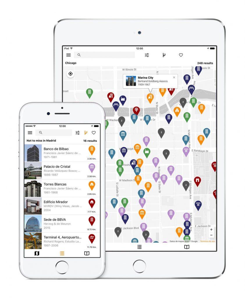 La base de datos de ArchiMaps está en constante expansión, y cuenta a día de hoy con más de 2.000 edificios.