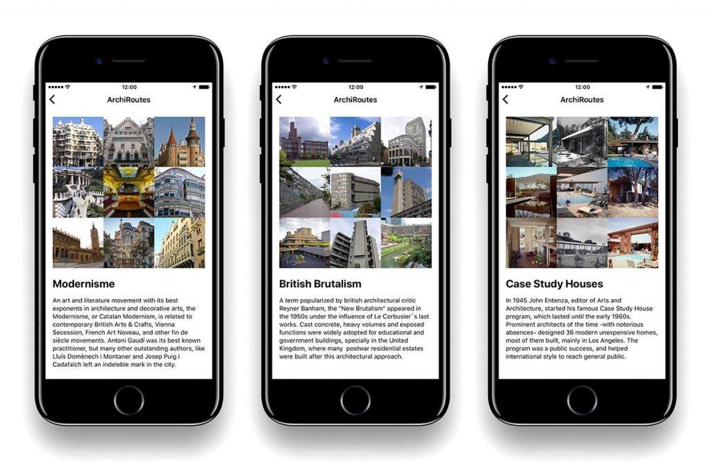 Las ArchiRoutes permiten profundizar en aspectos particulares de la arquitectura de una determinada ciudad.