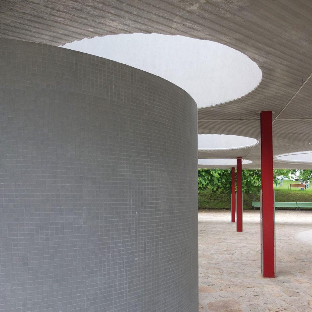 Espacio público en los Tilos. Teo. Eduardo Cruz. 2018.
