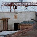 Restos de la zona industrial