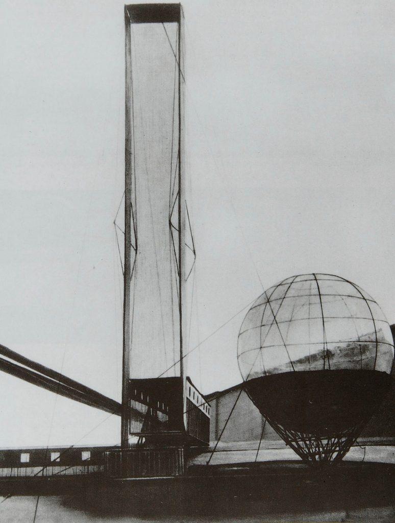 La tragedia de Leonidov José Ramón Hernández Correa ivan-russian-architect-1902-1959-culture-russian-title-lenin-institute-of-librarianship-project-model-work-type-architectural-model- 1927