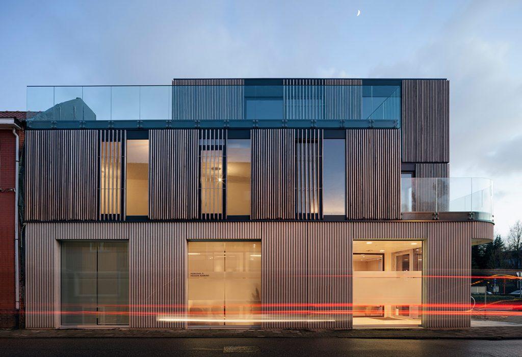 Oficinas centrales de Optifisk NV en Herentals RDVA. Rik De Vooght Architecten o13 © Milena Villalba 2017