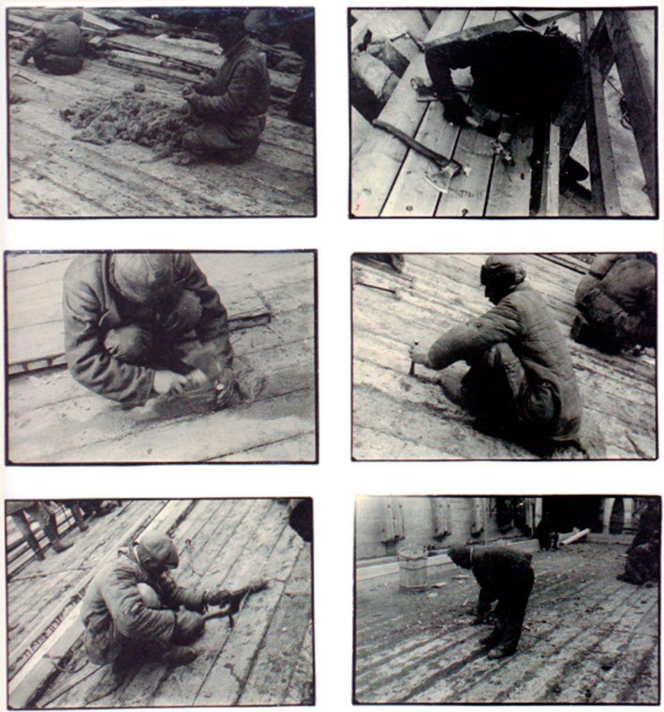 Alexander Rodchenko Trabajos en la reclusa, 1933.